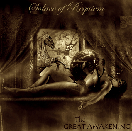 The Great Awakening album cover by Solace Of Requiem